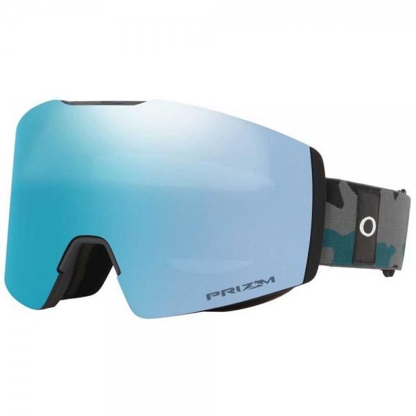 Oakley Fall Line XM balsam grey camo prizm sapphire 2021 gafas de snowboard