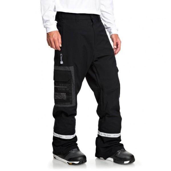 Dc Revivial black kvj 2020 pantalón de snowboard