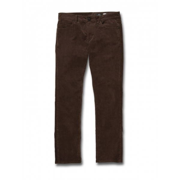 Volcom Vorta 5 pocket vintage brown 2021 pantalones