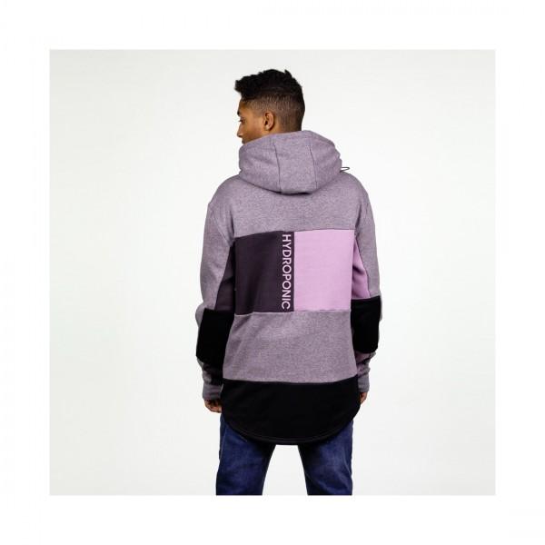 Hydroponic Dh Snow Half grey violet charcoal 2021 sudadera de snowboard