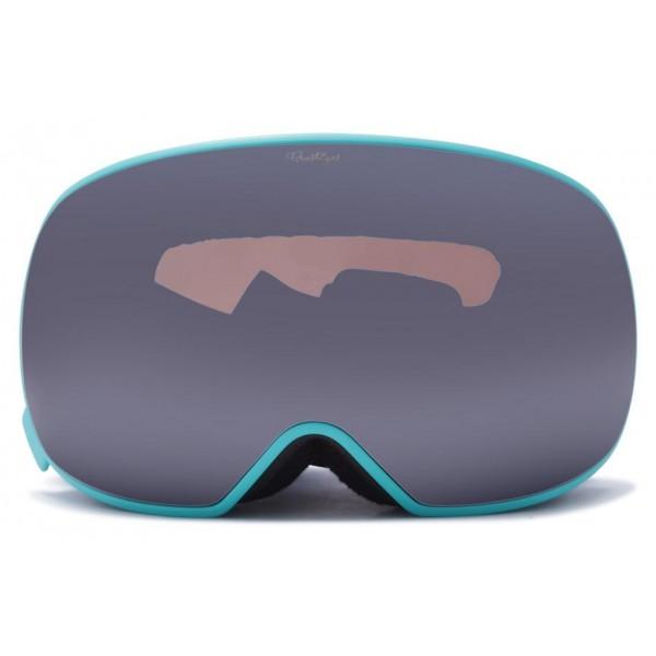 Crusheyes Range mint watercolor silver 2019 gafas de snowboard de mujer