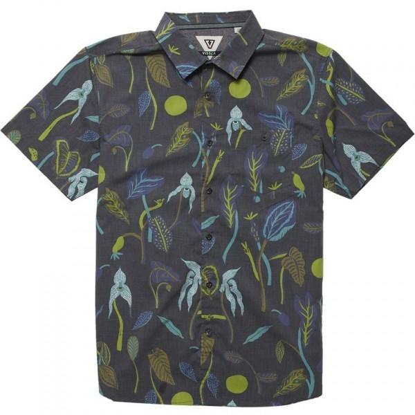 Vissla Weird weeds black 2020 camisa
