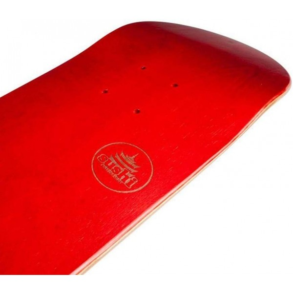 "Sushi Pagoda Stamp red 7.87"" tabla de skate"